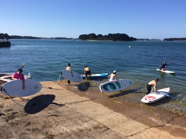Yoga/paddle